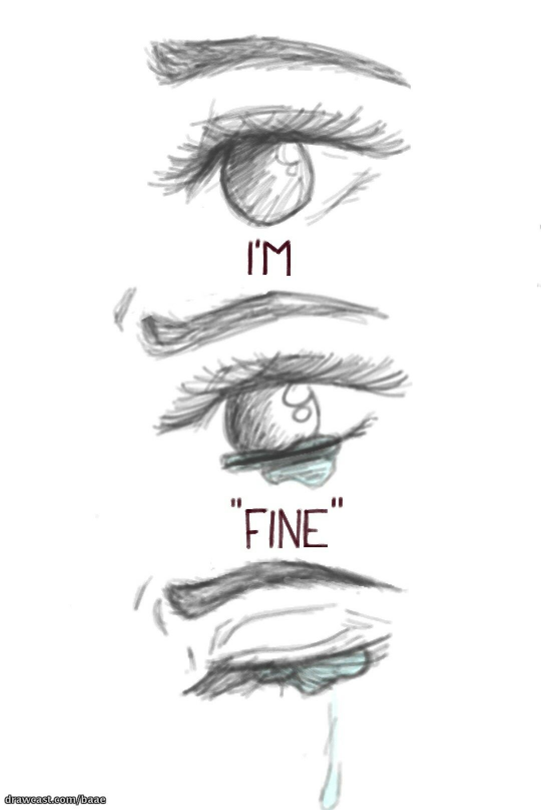 Just a vent drawing of mine sad drawings cute drawings of people deep