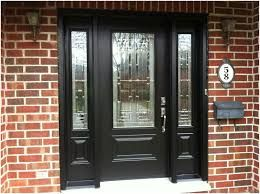 Black Front Door With Sidelights Google Search Black Front