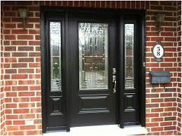 Black Front Door With Sidelights Google Search Front Door Makeover Painted Front Doors Black Front Doors