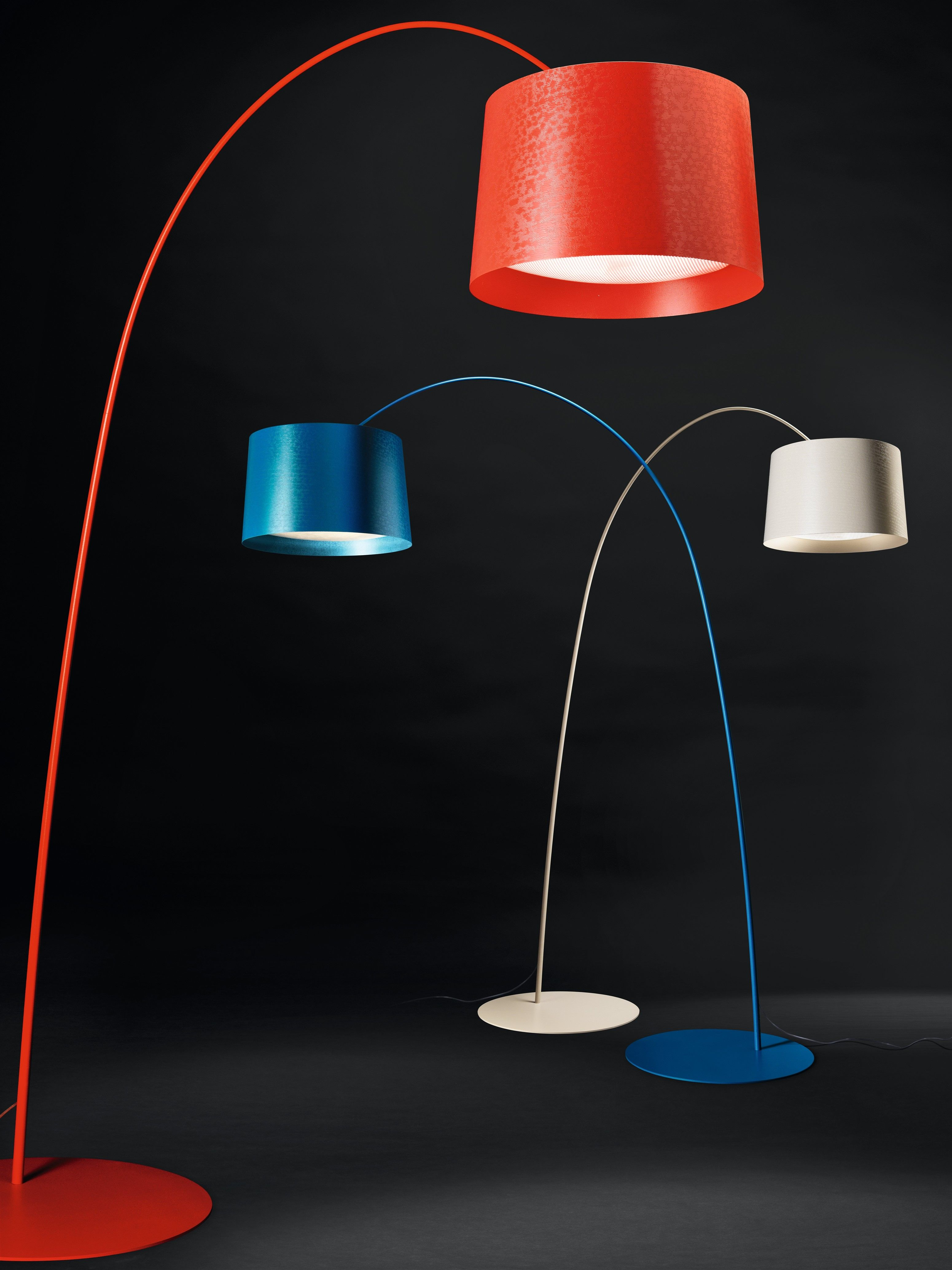 Blue floor lamp  Twiggy red white and blue  Table and floor lamps  Pinterest