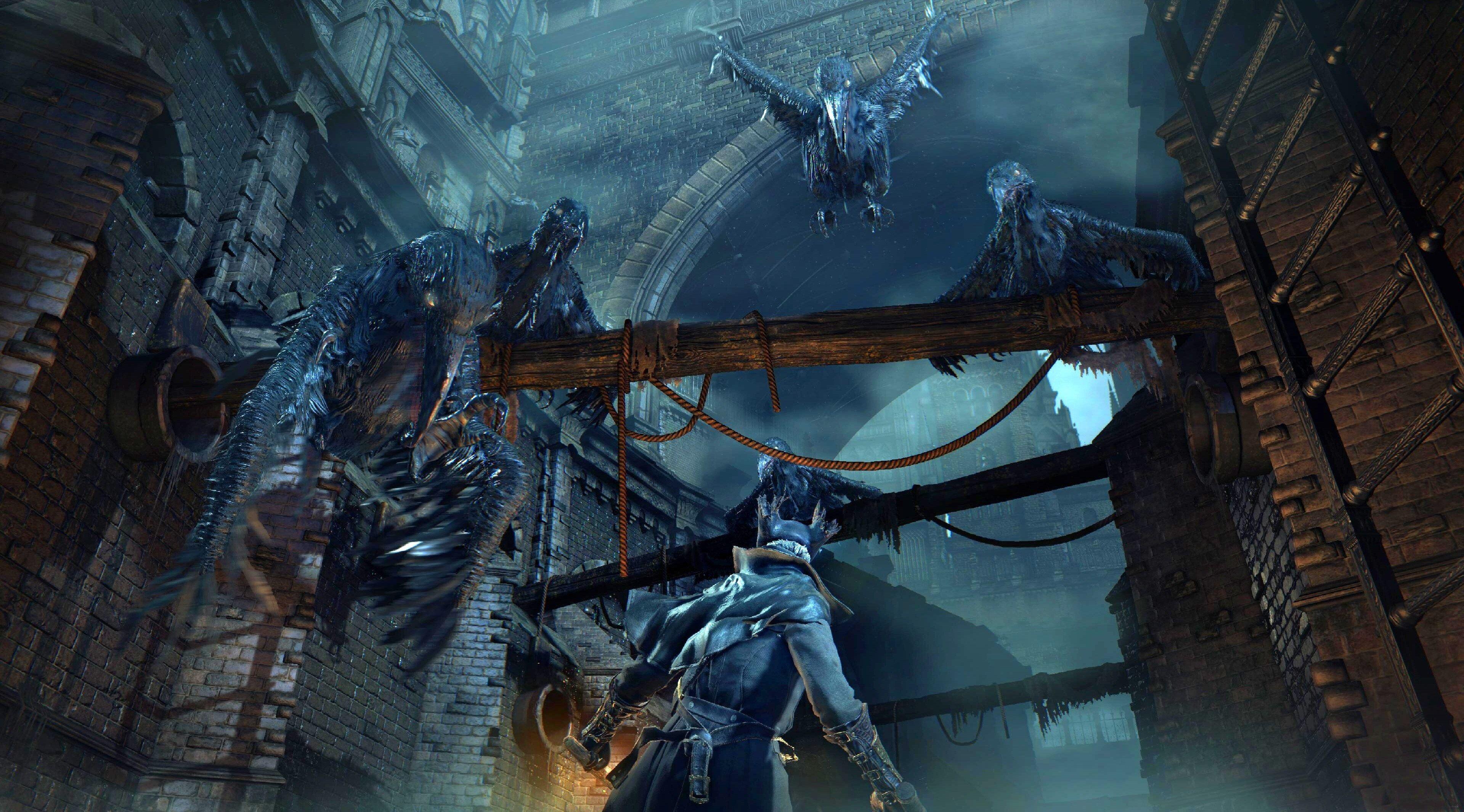 3840x2130 Bloodborne 4k Free Computer Wallpaper Background Bloodborne Desktop Pictures Dark Fantasy Art