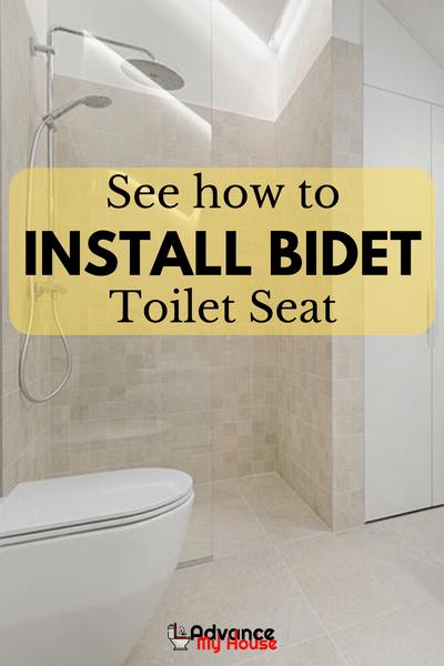 How To Install Bidet Toilet Seat Bidet Toilet Seat Bidet Toilet