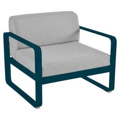 Fermob Bellevie Patio Chair with Cushion | Perigold#bellevie #chair #cushion #fermob #patio #perigold