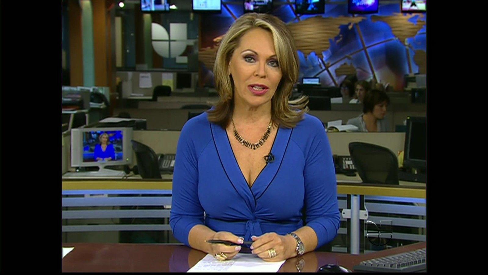 Maria Elena Salinas Legs | Univision Fine Anchor Maria Elena Salinas