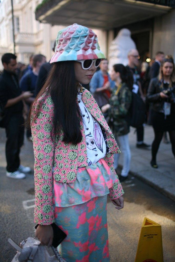 They Are Wearing: London Fashion Week Spring 2013 - WWD.com #LFW #Susie Bubble