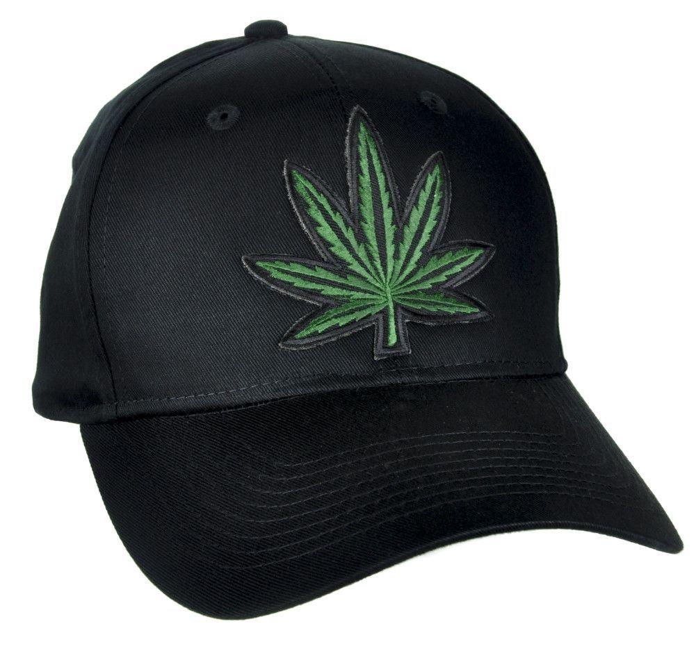 121881a4a7c Marijuana Pot Leaf Hat Baseball Cap Alternative Clothing Stoner Skater