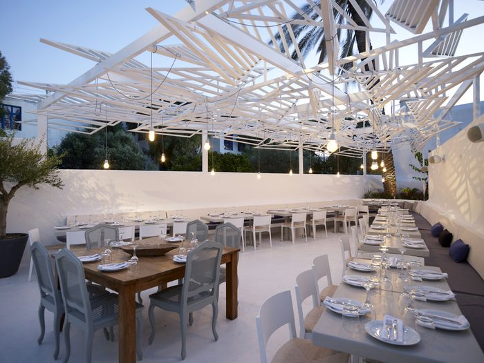 Phos restaurant, greece