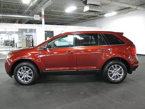 Ford Edge In Sunset Color