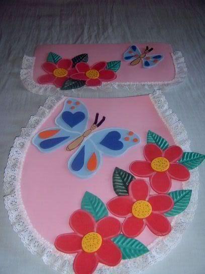 Juegos de baños en foami patrones - Imagui | bertha mendoza ...