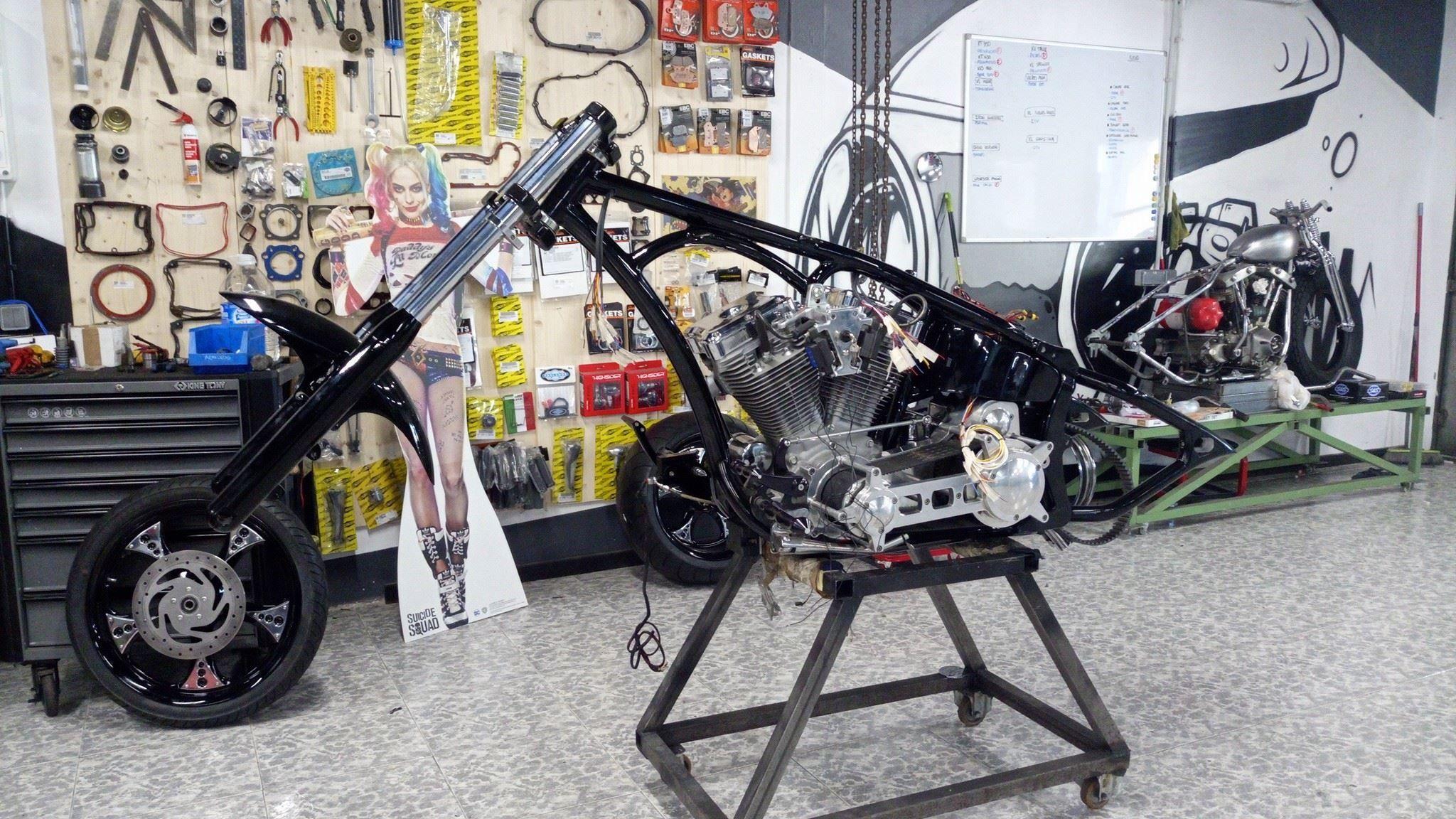 Imagen de Quique Maqueda en Motorbike parts
