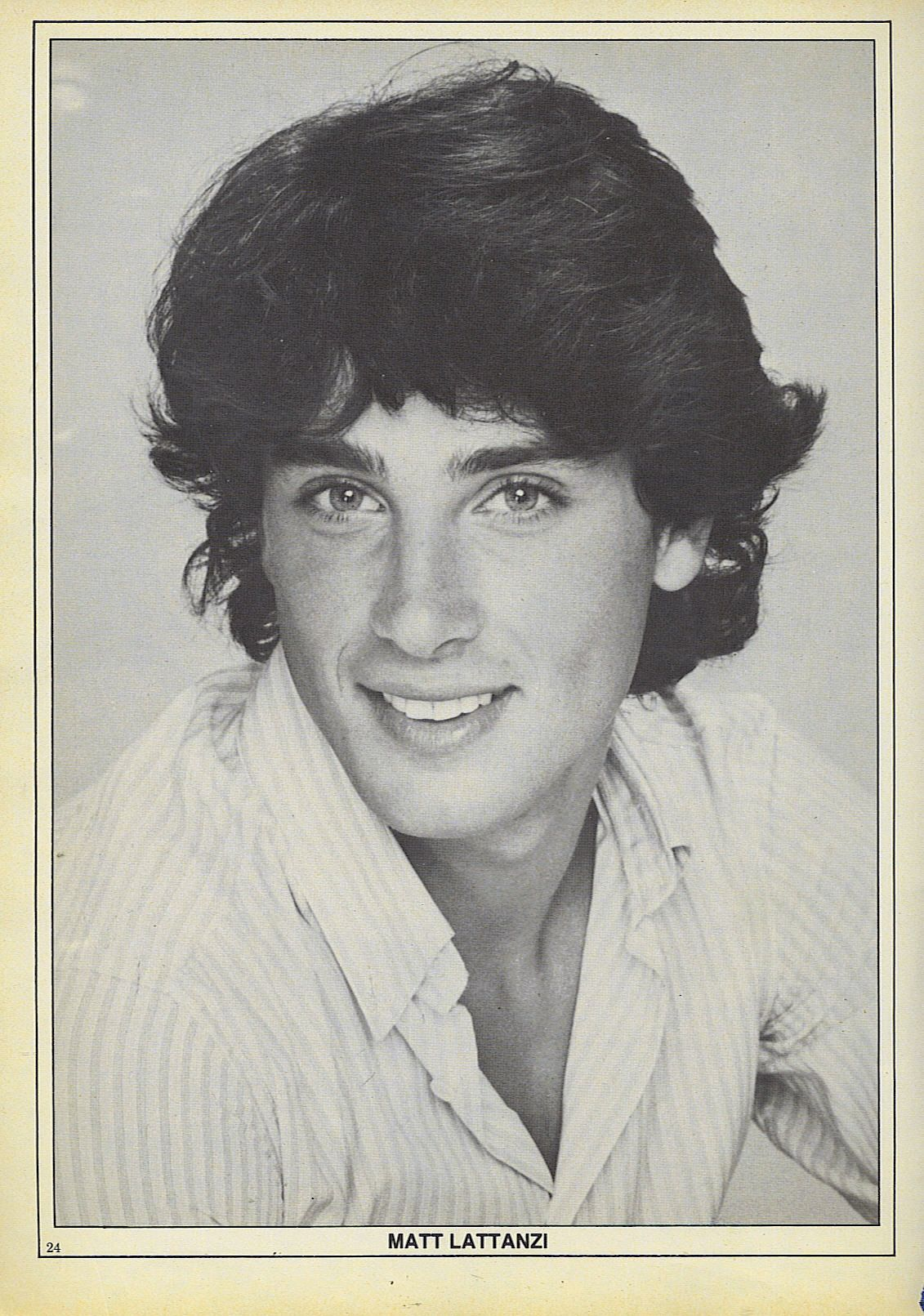 matt lattanzi made his film debut in 1980 in xanadu where