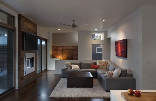 Living Room: Shift Top House by Meridian 105 Architecture #decor