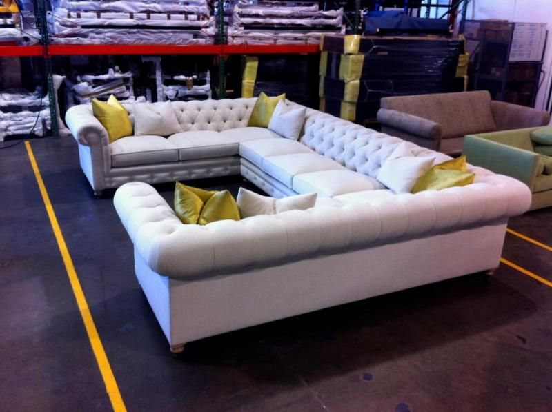 Madison McCord Interiors - CUSTOM UPHOLSTERY : customize sectional - Sectionals, Sofas & Couches