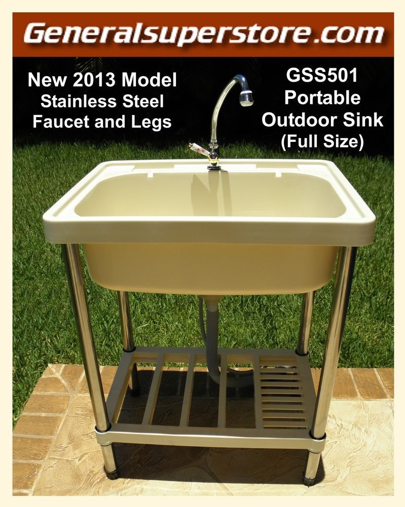 Portable Outdoor Kitchen Rv Sinks Gss501 Sink Garden Camp Camping Remodel Must Have Jbvinternational