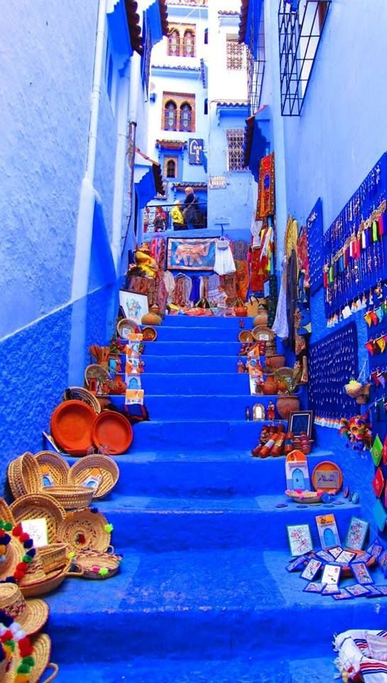 Chefchaouen, morocco. #travel