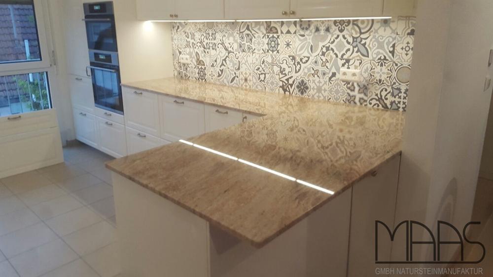 Granit Arbeitsplatten Für Küchen wunderschöne nero black granit küche oberfläche eco
