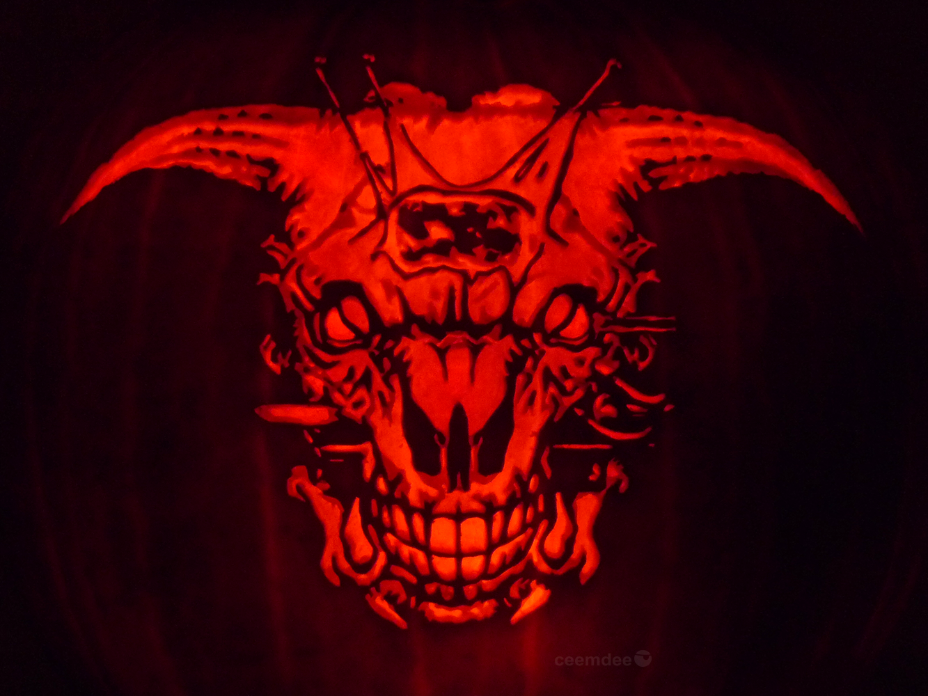 Icon of Sin Pumpkin by on