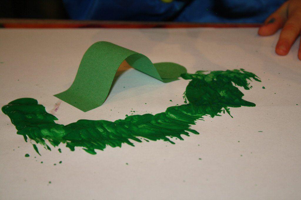 Inchworm Painting