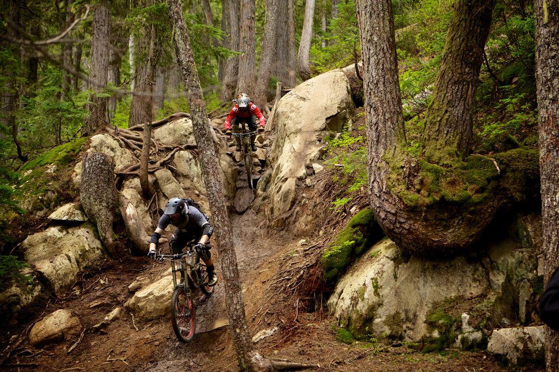Free Ride Mountain Biking Whistler Bike Park Canada Transition