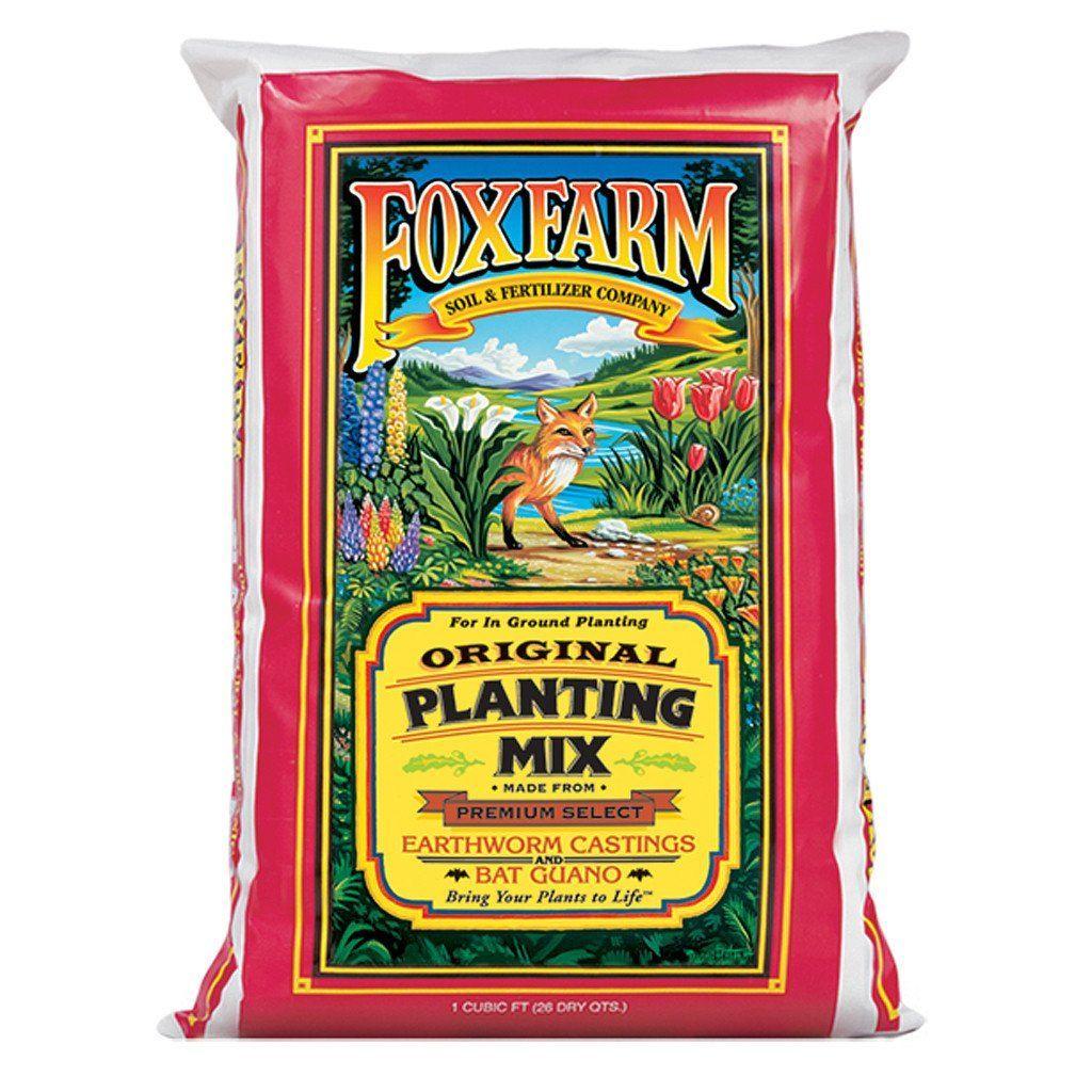 FoxFarm Planting Mix, 1 cu ft Earthworm castings, Plants