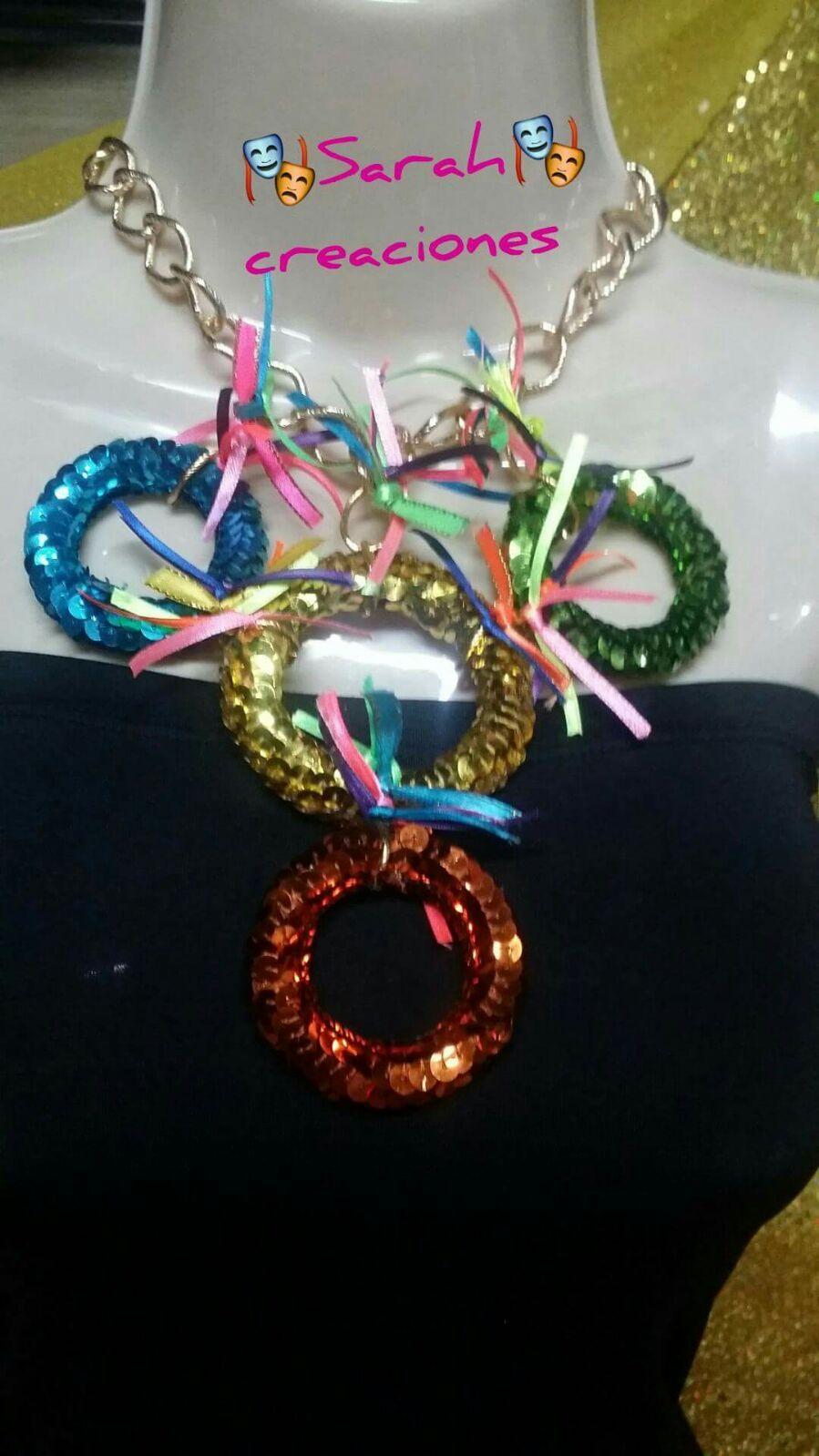 b14820f48cc2 Collar aros carnaval