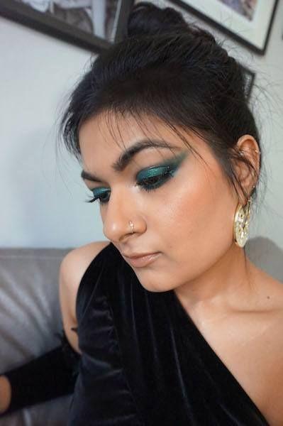 Deepika Padukone Green Eye Makeup Cannes 2017 (With images ...