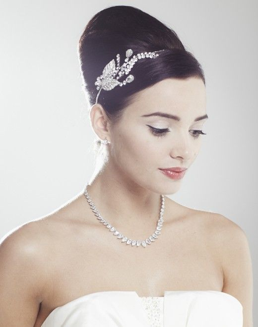 Bluebell Wedding Side Tiara by Ivory & Co | One fine day ...