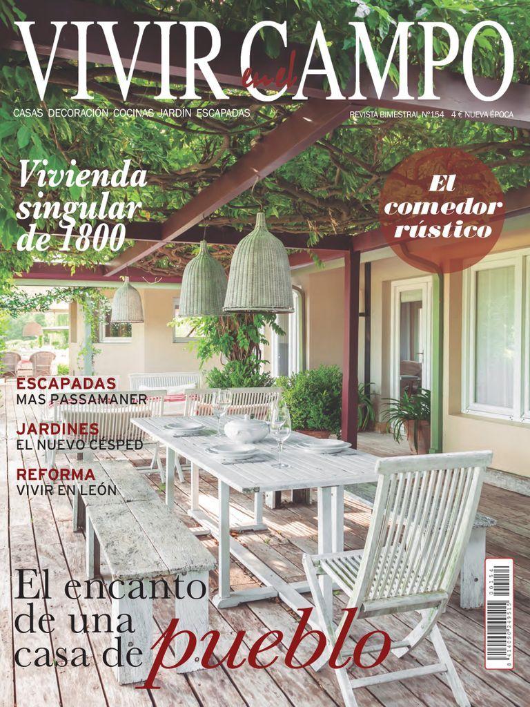 Vivir En El Campo Back Issue No 154 Digital In 2021 Pergola Outdoor Structures Outdoor