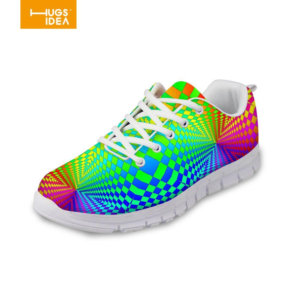Free Hugs Cactus 3D Print Men's Sport Sneakers Walking Shoes