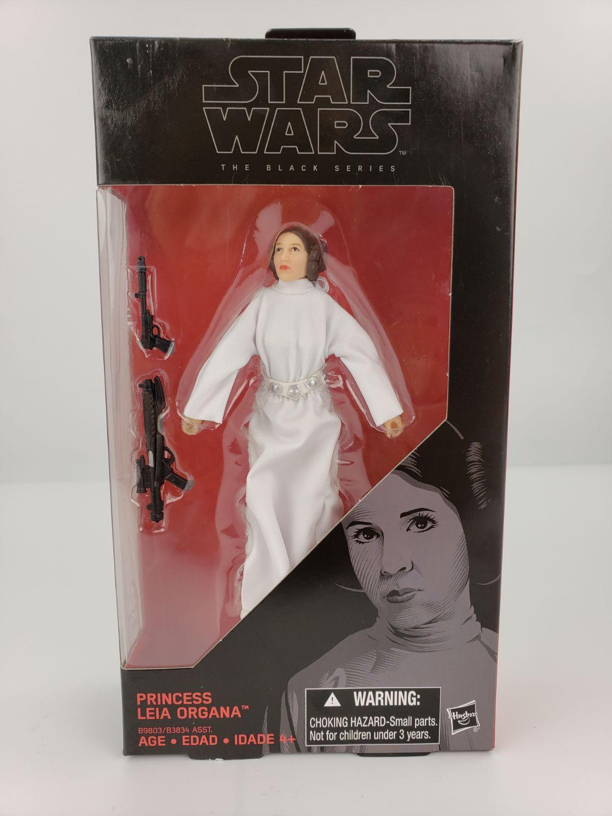 Star Wars Black Series General Leia Organa in Original Packaging