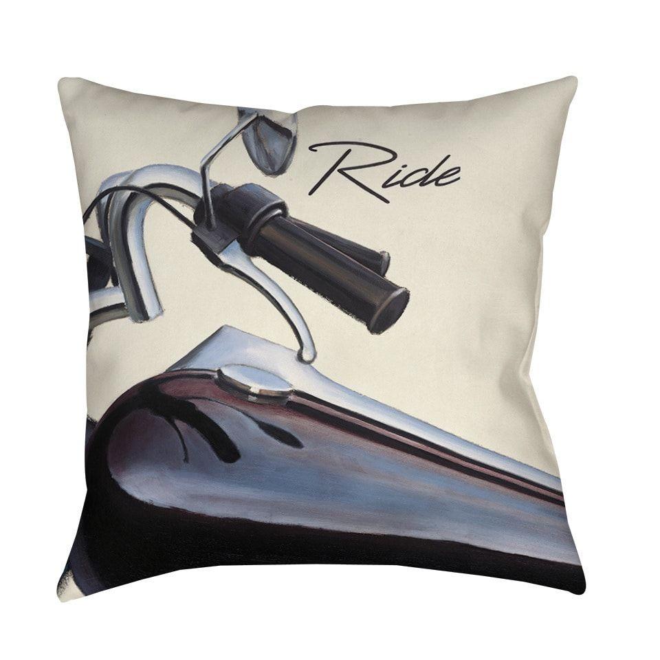 Thumbprintz Ride Throw Pillow or Floor Pillow (Art by Marco Fabiano ...