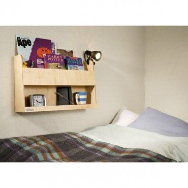 Wall Hanging Book Shelf And Nightstand By Kids Bed Especially For
