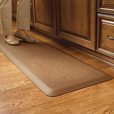 Classic Scroll Anti Fatigue Kitchen Comfort Mat Comfort Mats Frontgate Kitchen Comfort Mat