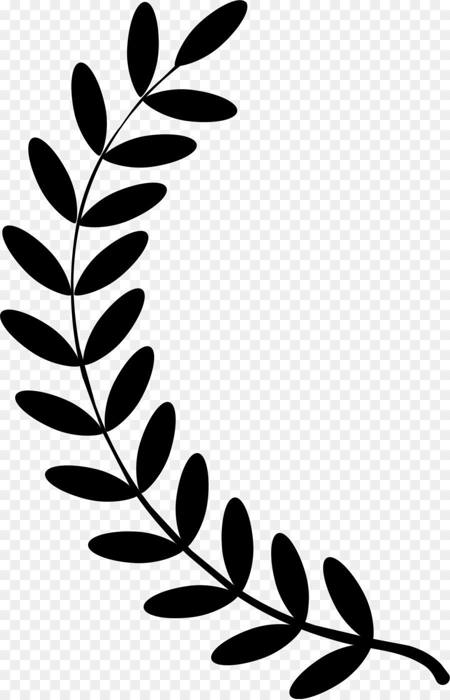 Black And White Flower Unlimited Download Cleanpng Com Wreath Clip Art Laurel Wreath Cricut Crafts