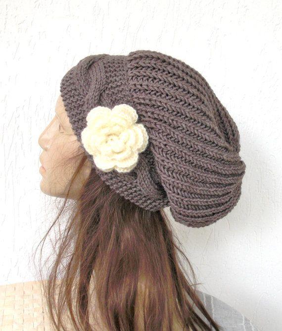 knitting pattern hat Instantdownload Knit Hat Pattern Digital ...