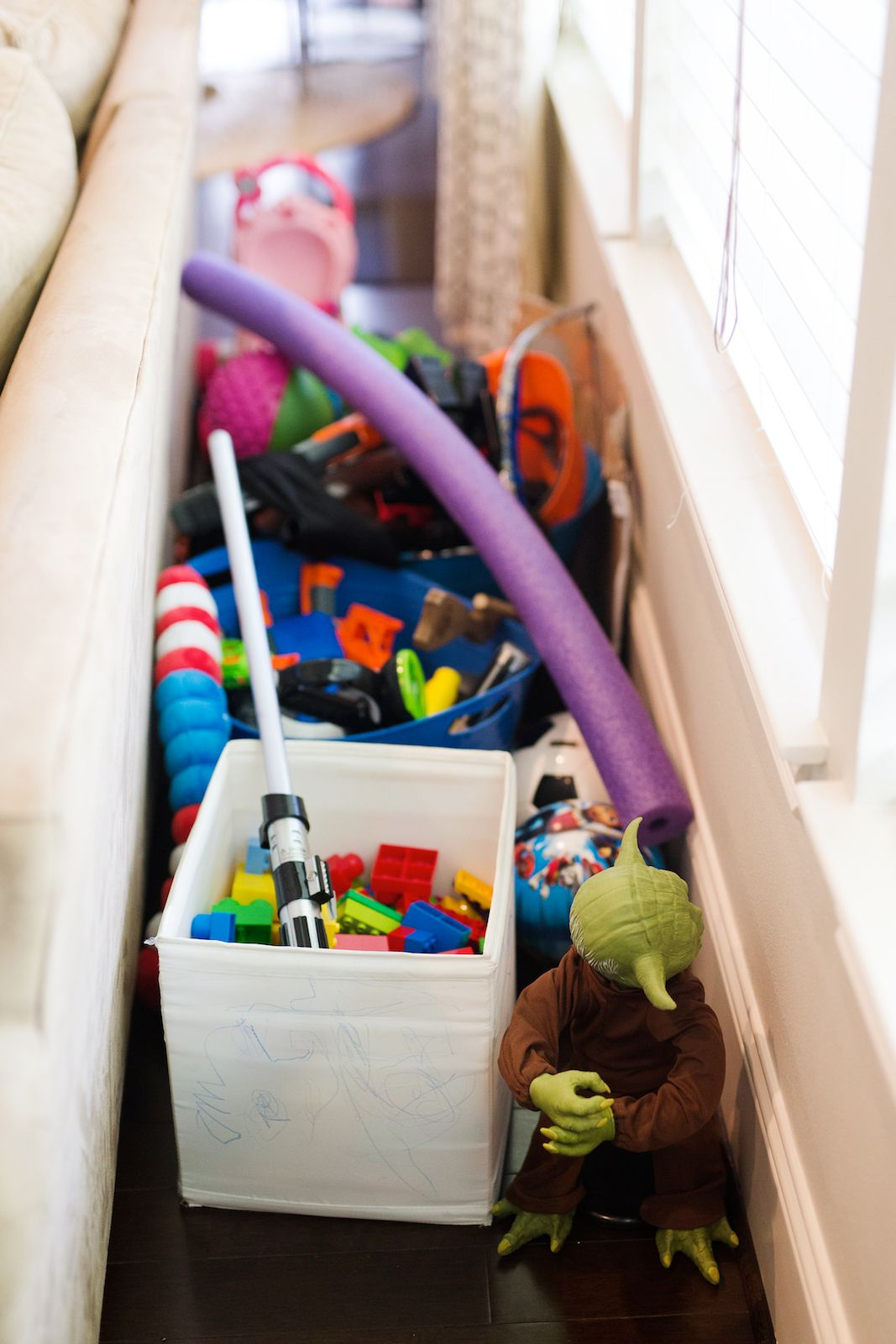 How to Organize Toys in the Living Room images