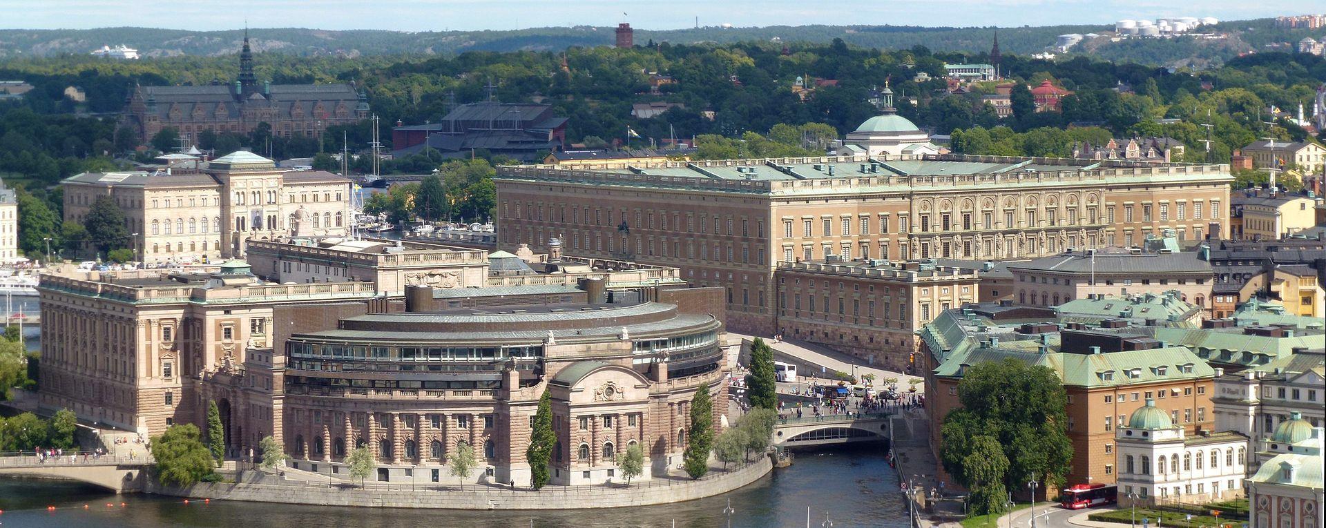 The Stockholm Palace Or The Royal Palace Swedish
