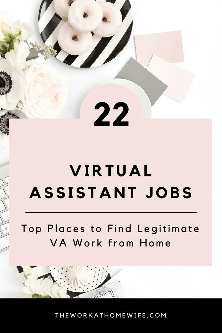 Top Places to Find Legitimate Virtual Assistant Jobs from