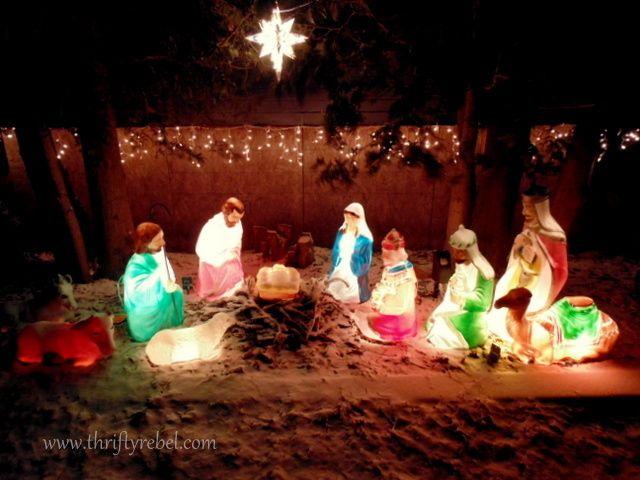 A Vintage Christmas Tour Home Advent Christmas