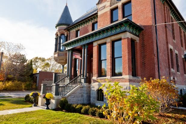 Rehab Addict Detroit The Ransom Gillis House Before And After