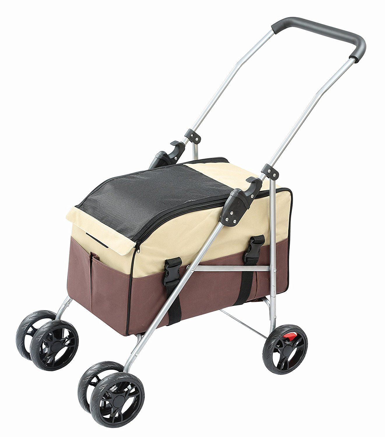 3in1 Pet Stroller, Carrier and Car Seat Visit the