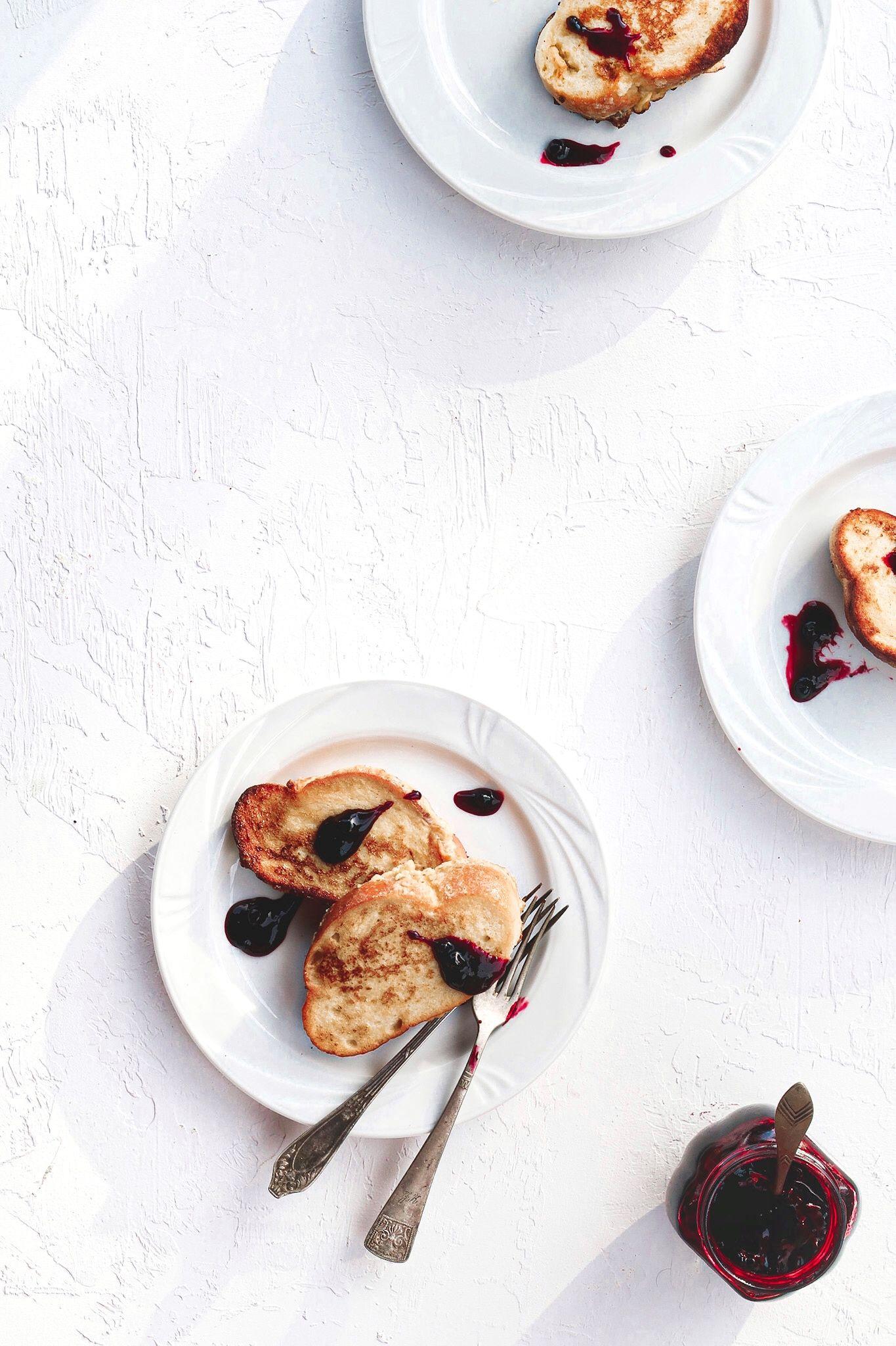 Challah French Toast In 2020 Challah French Toast Food Breakfast