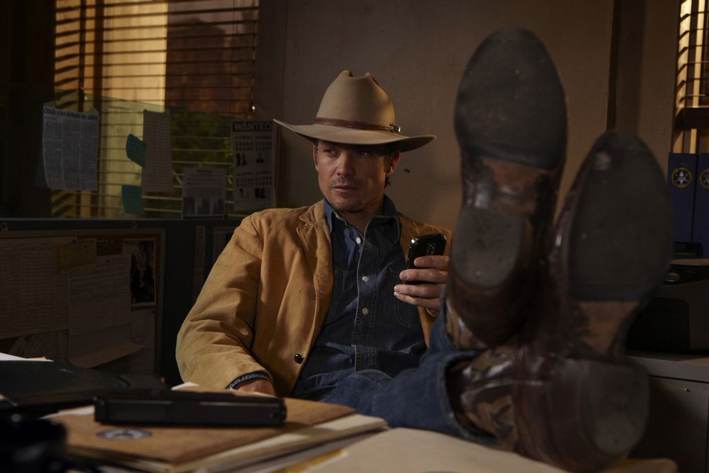 Timothy Olyphant Cowboy Boots in 2019 | Boots are good