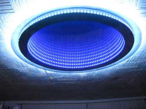 Yep, I have some ideas for this...  ;p  Home made infinity mirror (lamp) - YouTube