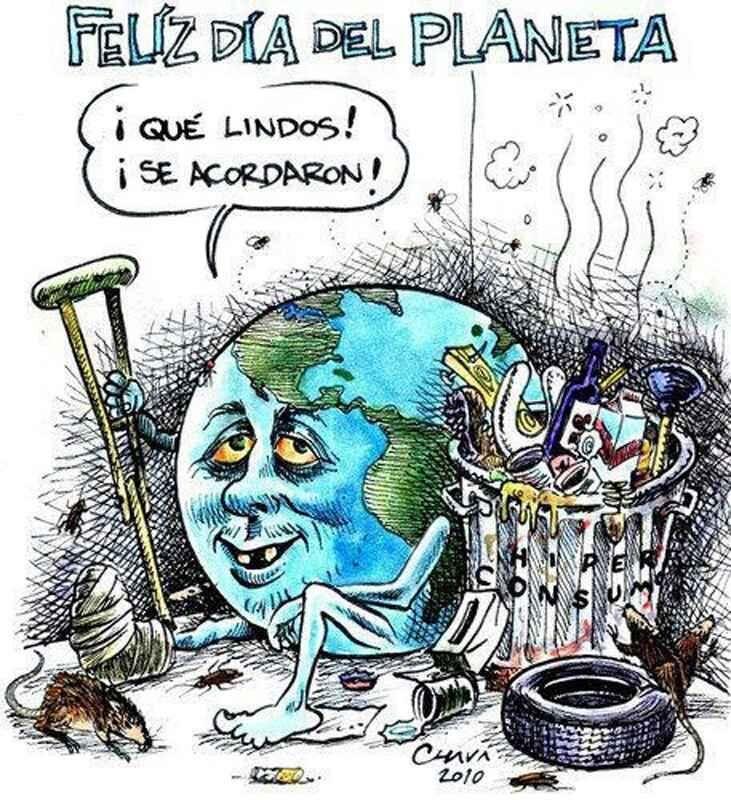 Subversivos On La Tierra Dibujo Dia Del Planeta Dia De La Tierra