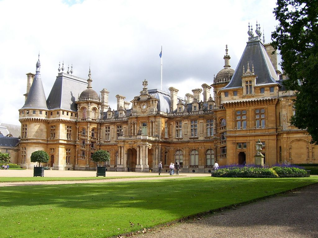 The 12 000 Acre Estate Of Haxby Park In Downton Abbey Owes Its