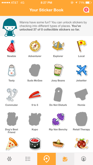 Swarm iPhone screenshot | Icon | App design inspiration, App