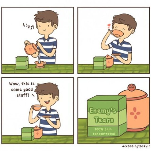 enemy's tears ..ahahah!!! #lol #funny
