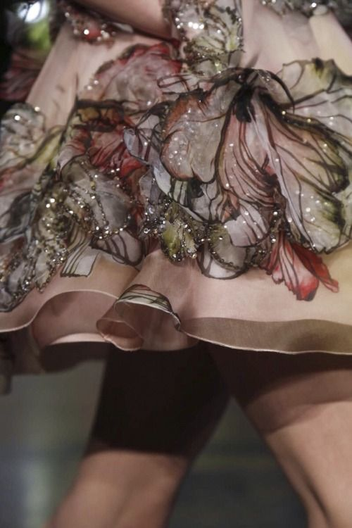 Close up at Elie Saab Haute Couture Spring/Summer 2015