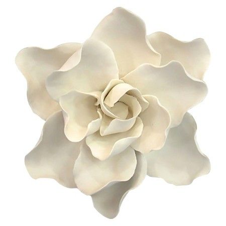 Ceramic Flower Wall Décor White Threshold Target